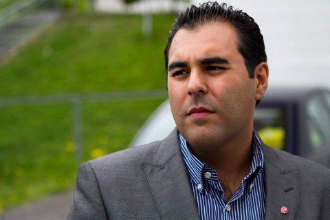 VIL GI: Masud Gharahkhani (Ap) vil gi til sammen 11 millioner kroner til Vikersundbakken samt Bob- og akebanen på Lillehammer