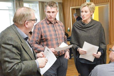 FIKK STØTTE: Bård Sverre Fossen (H)  fikk støtte fra blant andre Torstein Aasen og Tine Norman (begge Sp).Arkivfoto