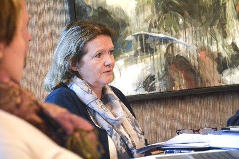 Anbefaler nei: Rådmann Anita Larsen.