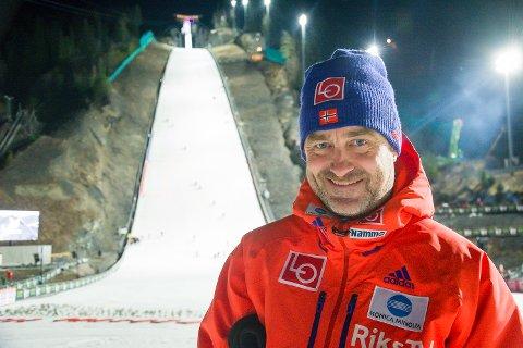 STOR DAG: Clas Brede Bråthen, Norges sportssjef, mener det er viktigere at verdensrekorden er satt i Norge, enn at den skal være satt av en norsk hopper.