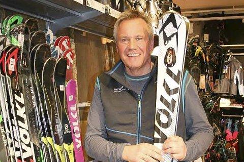 Ruster opp: Jens Erik Nygård frykter ikke de store aktørene i markedet, og mener konkurranse er sunt.