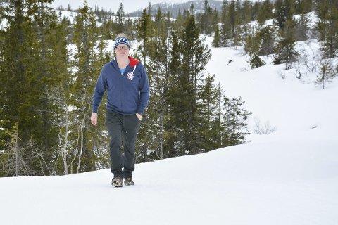 VIKTIGE SKILØYPER: Lang og stabil langrennssesong er et av de viktigste kriteriene for å være et attraktivt fjell. – Vi får mange positive tilbakemeldinger på at vi har hatt strøkne løyper siden 24. oktober her på Norefjell, sier Geir Bottolfs.