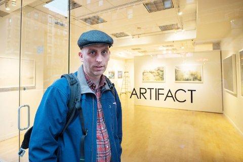 MANHATTAN: Morten Normann Larsen fra Geithus har fotoutstilling i New York denne uka.