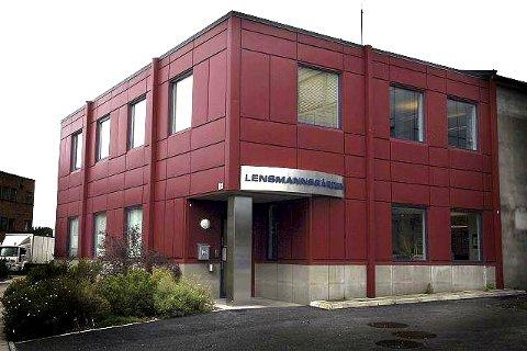 Lensmannskontoret holder til i Vikersundgata 33. Arkivfoto: Knut Bråthen.