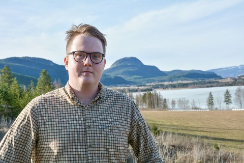 EN GANG SIGDØLING...: Magnus Weggesrud ser for seg at han flytter tilbake til Sigdal på et eller annet tidspunkt. Men han vil også inn på Stortinget.