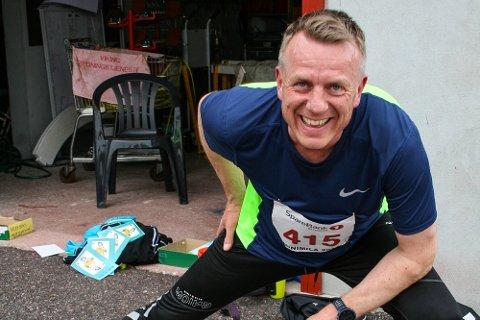 Terje Ingvoldstad tilbakela nesten syv runder og 2.630 meter på 12 minutter. For to år siden kom han ikke lenger enn 1.825 meter i samme test.