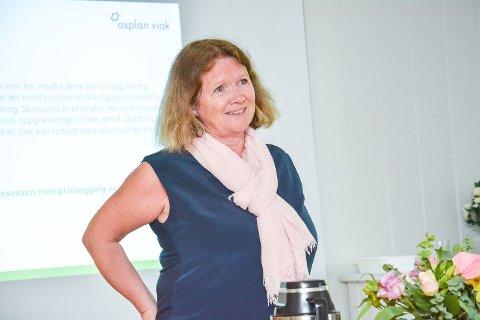 SLUTTER: Anita Larsen har vært rådmann i Krødsherad siden 2013. Nå slutter hun.
