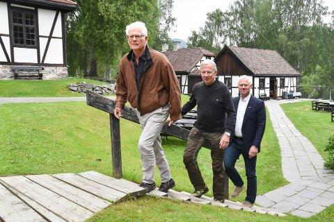 MODUMKONFERANSEN: Ole Johan Sandvand (f.v.), Ole Brunes og Ståle Versland.