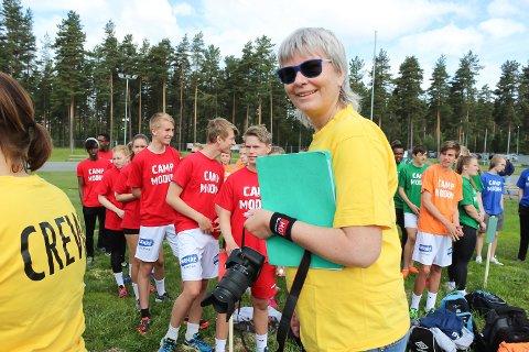 NYE MIDLER: Ledende helsesøster Hilde Øverby kan glede seg over milliontildeling fra Helsedirektoratet. Her fra en tidligere anledning.
