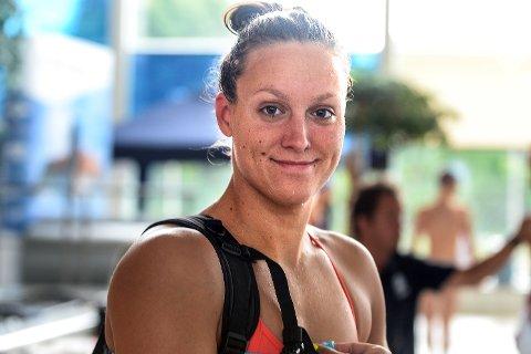 TOK TRE: Stine Lise Stenseth kunne reise hjem fra junior NM med medaljer av alle valører.