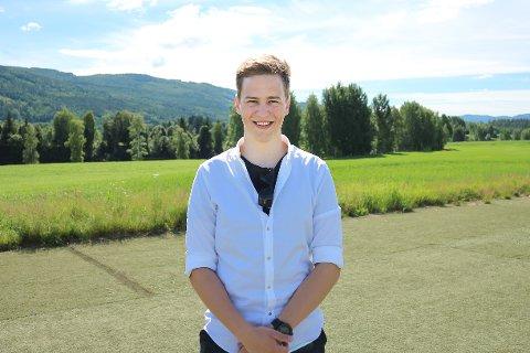 UTVALGT: Martin Aalien er en av få som fikk KOG-jobb i sommer