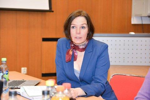 Ønsker svar: Øvre Eikers rådmann Trude Andresen ber om svar fra politikerne på hvordan veien videre skal være.