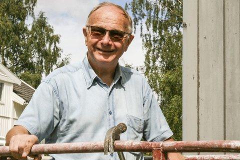 Mange jern i ilden: Knut M. Strand er temmelig sikker på at han ikke kommer til å kjede seg som pensjonist.