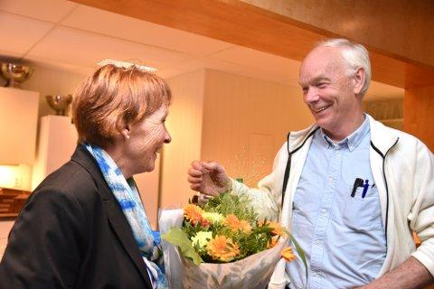 Kari Anne Sand gratulerte med valget.