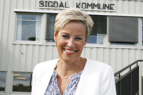 Liker utfordringer: Tine Norman er som født til rollen, og stortrives som ordfører
