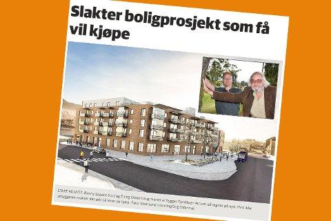 Skjermdump fra bygdeposten.no 2. september 2017.
