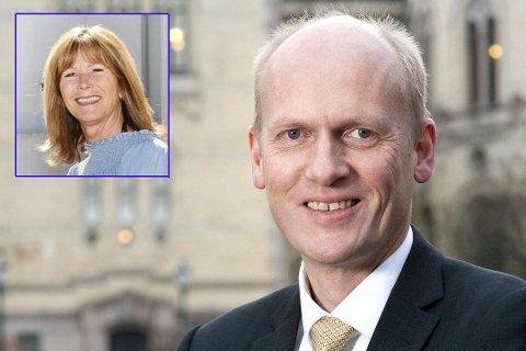 FÅR KRITIKK: Anders B. Werp må tåle kritikk fra Ann Sire Fjerdingstad, selv om hun mener har har en krevende rolle i partiet.