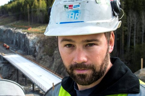 VOKSER: Lars Hæhre har vært og handlet igjen.