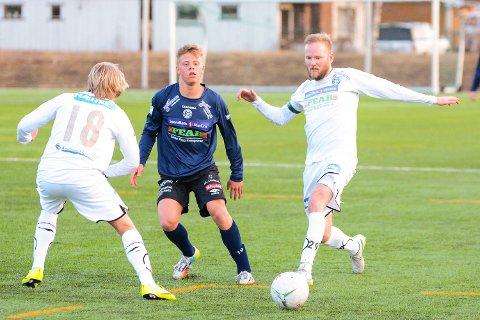 BLIR TRENER: Daniel Hjaltason tar over MFKs juniorlag. Her er han selv i aksjon som spiller for klubben for noen år siden.