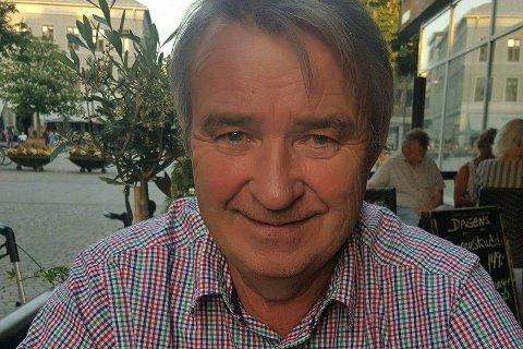 IKKE MORO: Gotfred Rygh liker ikke at posisjonens budsjettforslag ikke gikk gjennom i kommunestyret i Modum.