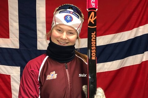 VIL TIL VM: Hedda Thoresen Bolstad vil til junior-VM i skiskyting i januar. Hun la inn en god søknad med seier og 5. plass på Lyngna i helgen.