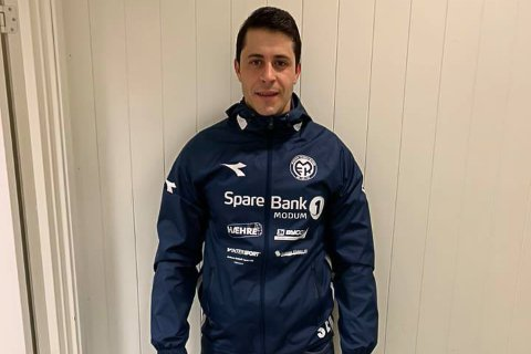 NY KEEPER: Amine Hmadi har tidligere spill 2. divisjonsfotball i Hønefoss BK.