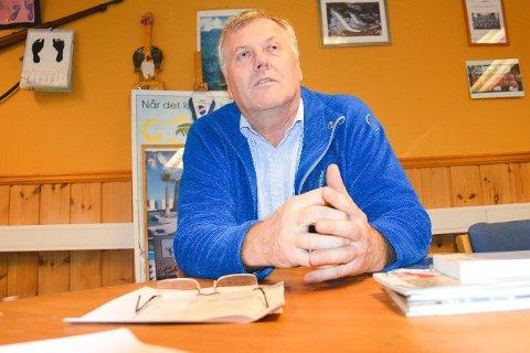 NYTT FORSLAG: Jon Hovland fra Modum Høyre har sammen med sine kolleger i Modum FrP utarbeidet de to partienes alternative Modumbudsjett for 2019.