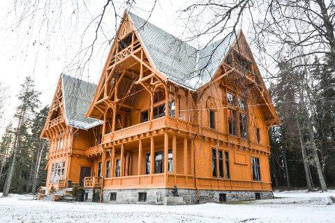 VILLA FRIDHEIM: Museet på Bjørøya i Krødsherad er en del av Buskerudmuseet.