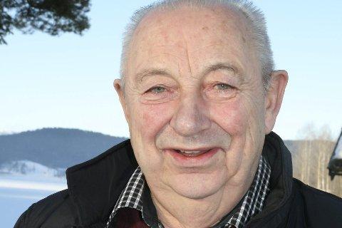 Jubilant: I morgen fyller Knut Tore Eidal 75 år.