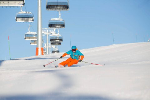 UTSATT SESONGÅPNING: På grunn av mildvær åpner ikke alpinanlegget på Norefjell før 23. november.