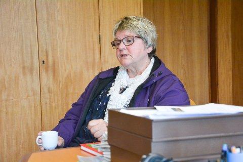 FORNØYD: Styrer Kari Kjensmo er glad for at administrasjonen i Krødsherad innstiller på nytt tilbygg til Noresund barnehage. Formannskapet behandler saken 15. mars.