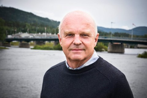 MIDTNETT: John-Arne Haugerud.