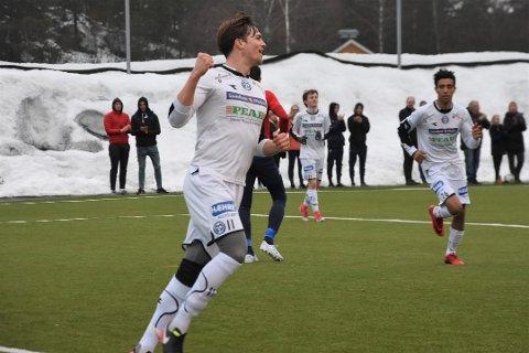 NOK EN SCORING: Sigbjørn Skatvedt satte sin 11. scoring for sesongen borte mot DBK mandag.
