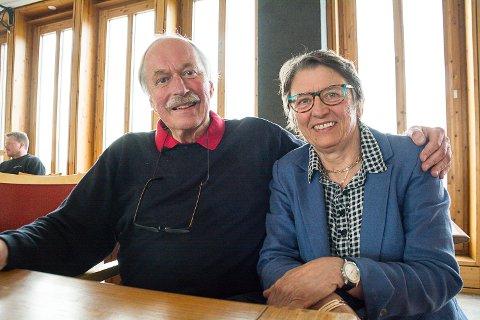 INSPIRERTE: Johan Kaggestad og Kristin Lindberg snakket om sine erfaringer som gründere.