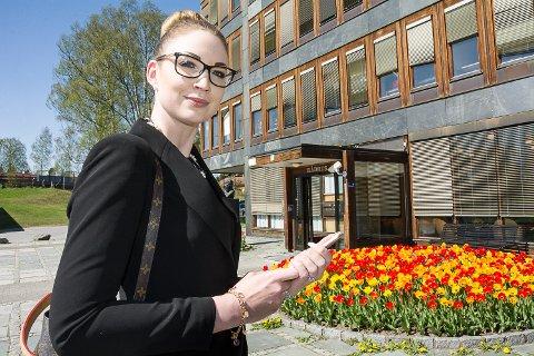 GØNNER PÅ: Anette Westrum kommer til å være mye på farten i de tre kommunene, og hun lover at innbyggerne kommer til å merke at hun er på plass.