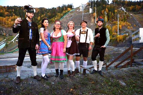 13. OKTOBER: Da er det atter klart for Oktoberfest og ølbryggerkonkurranse i hoppsenteret. Bildet er fra 2016.