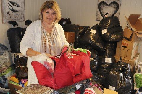 FRIVILLIG: I Modum er det mange frivillige. Ett eksempel er Ingrid Kragh Swang, som er med i Scan Aid.ARKIVFOTO