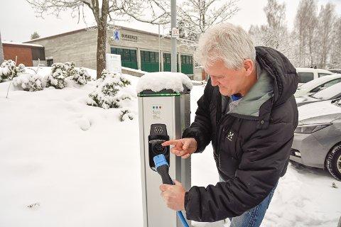 Øystein Fidjestøl setter en stopper for elbilenes tjuvlading.