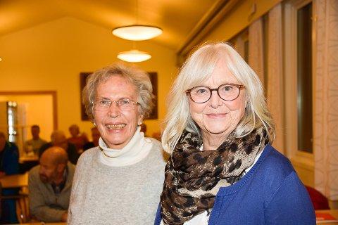 SOSIALT: Det var gjennom frivilligheten at Sigrid Kvisle og Kari-Mette Asp ble kjent.