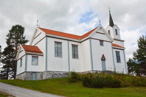 ANNO 1853: Mest sannsynlig har lite blitt gjort med vinduene siden Holmen kirke ble bygget.