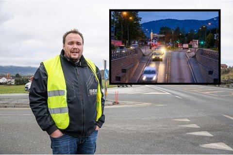 Natt til søndag ble en av Dag Kristian Moen Hæhres førerelever tatt i 170 km/t i Rosenkrantzgata. Hæhre sier til Drammens Tidende at han er både sint og skuffet.