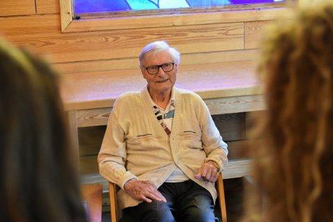 IKKE UTE ETTER HEVN: Johan Solberg fra Vikersund skal vitne mot en tidligere SS-vakt, men understreker at han ikke er ute etter hevn.