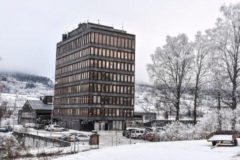 STARTER PÅ NYÅRET: Strakstiltakene som skal gjøre rådhuset i Modum mer brannsikkert, starter i uke to.