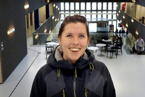SKAL GI RÅD: Linn Tandberg Thorud fra Geithus skal møte statsminister Erna Solberg i morgen for å gi henne råd om utdanning.