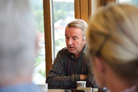 VANSEKLIG JOBB: Det har vist seg vanskelig å finne en erstatter for Gotfred Rygh som toppkandidat for SV til høstens valg.