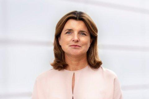 SETTER NED RENTEN: Nina Schanke Funnemark tiltrådte som administrerende direktør i Lånekassen fra september i fjor. Nå setter hun ned fastrenten.
