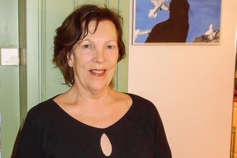 SIKKER PLASS: Britt Eva Helgedal er toppkandidat og kummulert på listen til Miljøpartiet de grønne Modum i til høstens valg. Får partiet nok stemmer, er hun sikret plass i kommunestyret.