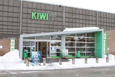 BYGGER OM: Kiwi Åmot sentrum skal bygges om, og blir stengt en ukes tid.