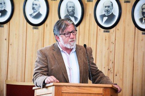 TOPPKANDIDAT: Ole Martin Kristiansen er foreslått som toppkandidat på Modum Venstres liste til høstens valg.