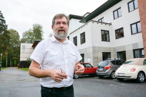 TIL HØSTEN: Planen er å ta i bruk de siste åtte plassene på Modumheimen til høsten, forteller virksomhetsleder på Modumheimen, Audun Eriksen.